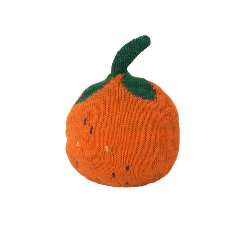 ferm LIVING Ball Gestrickt Fruiticana Roly Poly Orange •