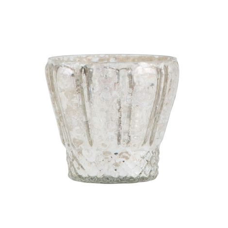 IB LAURSEN Teelichthalter Silber