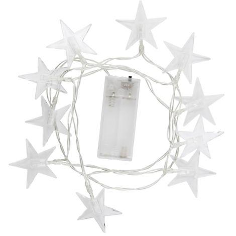 IB LAURSEN Lichterkette 10 LED-Lichter Stern
