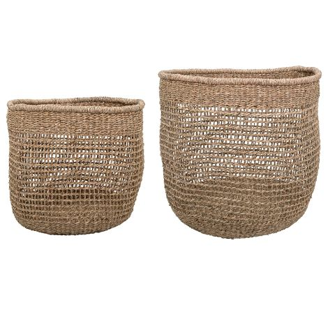 Bloomingville Korb Nature 30/40 cm 2er-Set