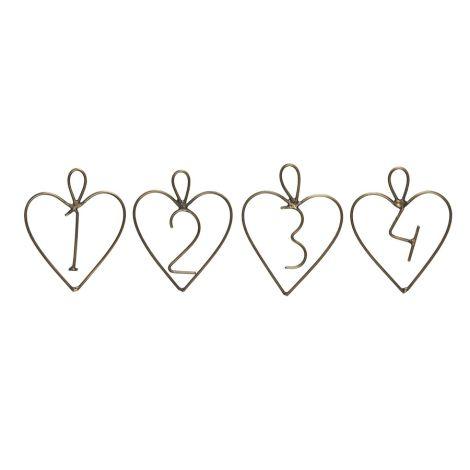 IB LAURSEN Deko-Anhänger 1-4 Herz