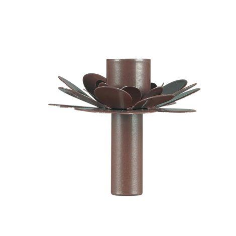 IB LAURSEN Kerzenhalter für Stabkerze Blume Faded Rose