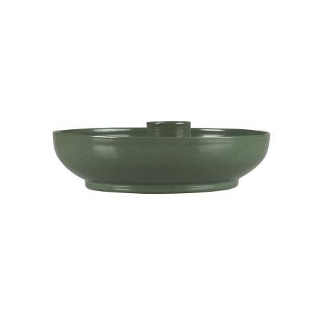 IB LAURSEN Kerzenhalter für schmale Kerze Olivengrün