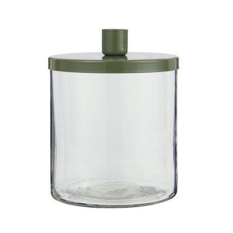 IB LAURSEN Kerzenhalter für Stabkerze Metalldeckel 16,5 cm