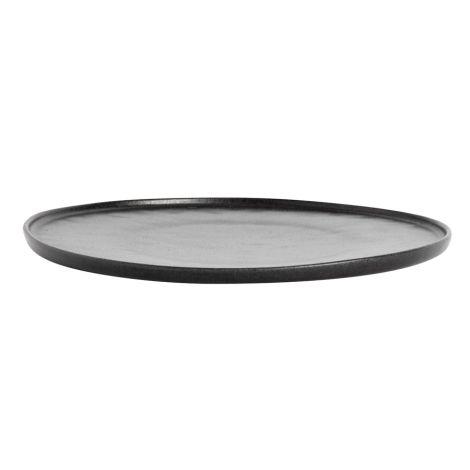 MUUBS Speiseteller Ceto Black 27,5 cm