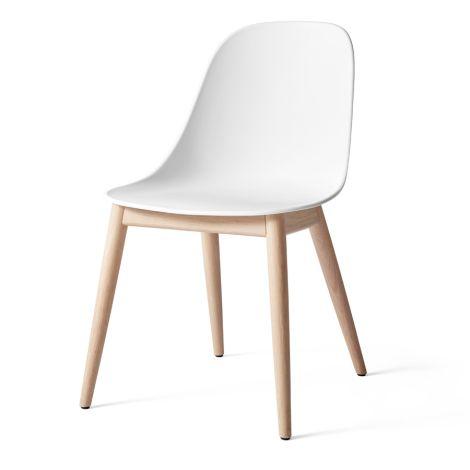 Menu Harbour Stuhl Side Chair Natural Oak/White Shell
