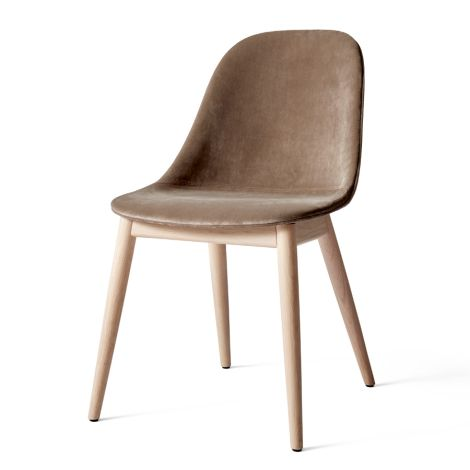 Menu Harbour Stuhl Side Chair Natural Oak/City Velvet
