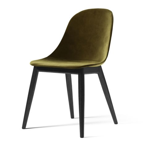 Menu Harbour Stuhl Side Chair Black Oak/City Velvet