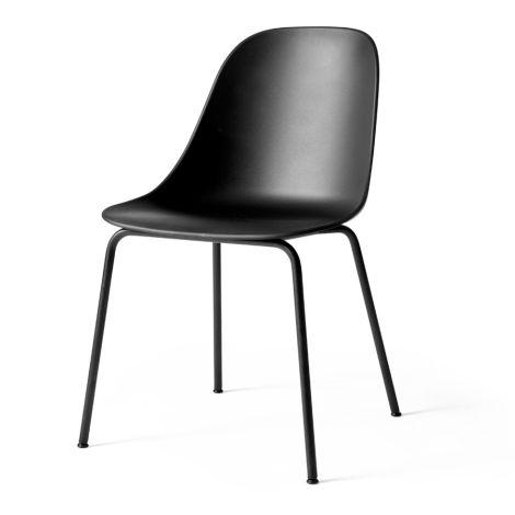 Menu Harbour Stuhl Side Chair Black Steel Base/Black Shell
