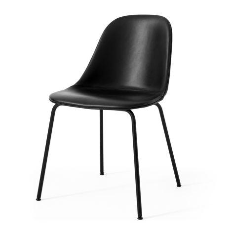 Menu Harbour Stuhl Side Chair Black Steel Base/Dakar
