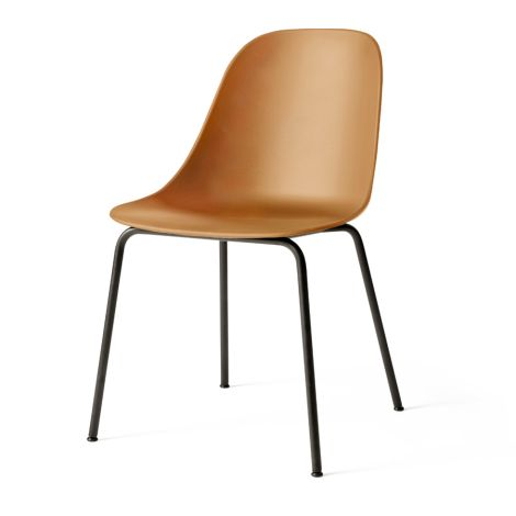 Menu Harbour Stuhl Side Chair Black Steel Base/Khaki