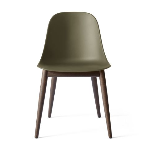 Menu Harbour Stuhl Side Chair Dark Stained Oak/Olive Shell