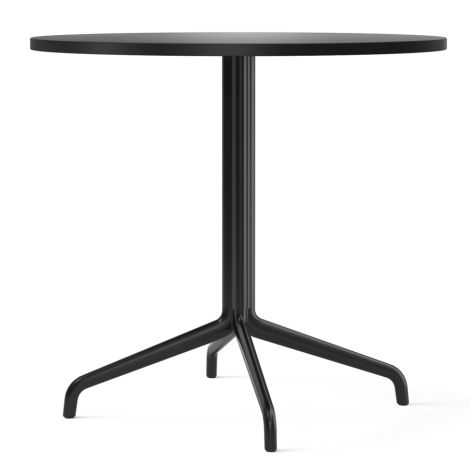 Menu Harbour Column Tisch Ø80 cm Black/Charcoal