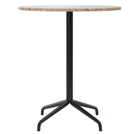 Menu Harbour Column Tisch Ø80 cm Black/Sand
