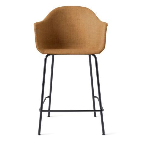 Menu Harbour Stuhl Counter Chair Black Steel Base/Hot Madison