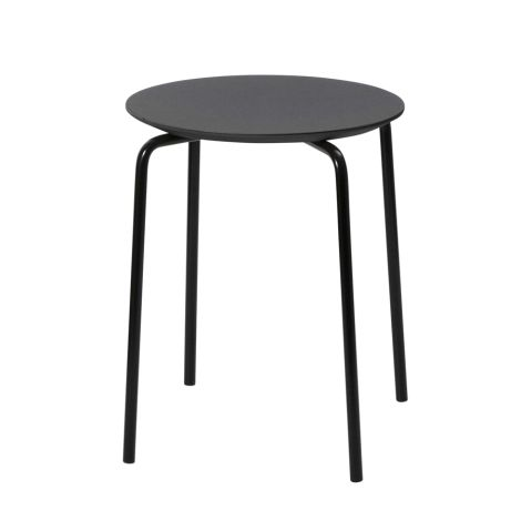 ferm LIVING Hocker Herman Stool Black