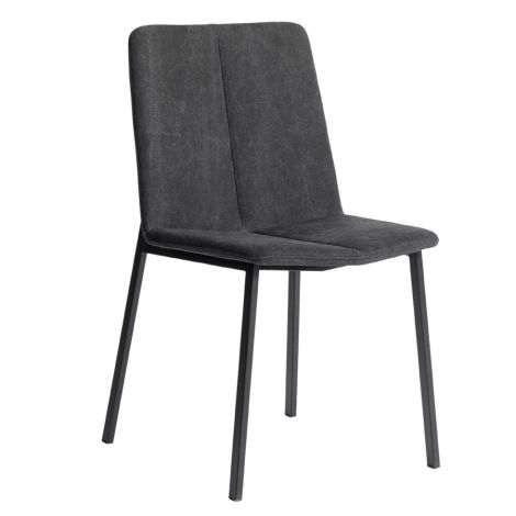 MUUBS Stuhl Chamfer Anthracite