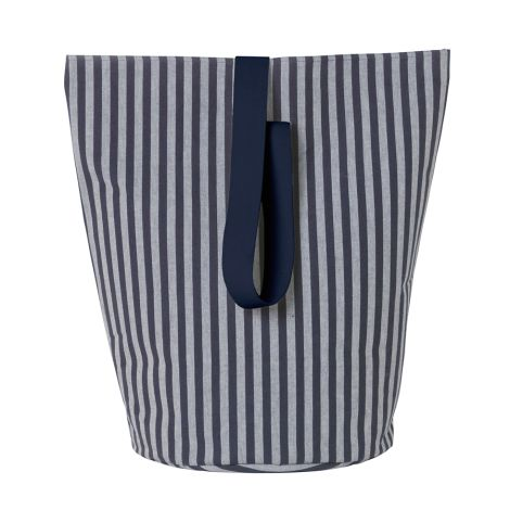 ferm LIVING Aufbewahrungskorb Chambray Striped L •
