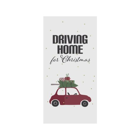 "IB LAURSEN Serviette ""Driving Home for Christmas"" 16 Stk."