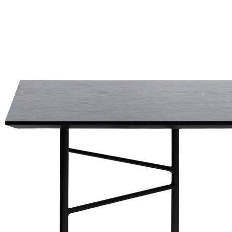 ferm LIVING Tischplatte Mingle Black Veneer - In verschiedenen Größen