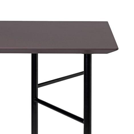 ferm LIVING Tischplatte Mingle Taupe - In verschiedenen Größen