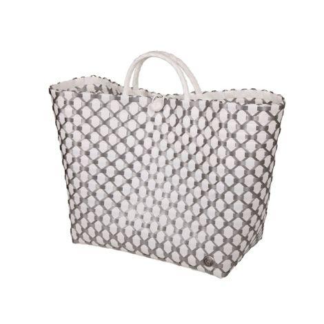 Handed By Shopper Lima Weiß / Silberfarben
