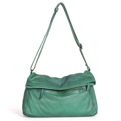 Sticks and Stones Ledertasche Brasilia Aqua Washed