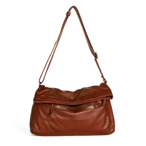 Sticks and Stones Ledertasche Brasilia Cognac Washed