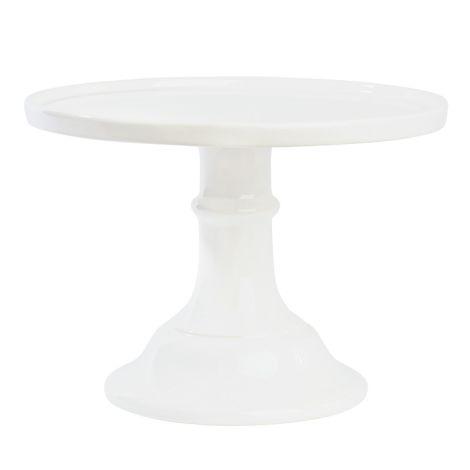 Miss Étoile Tortenplatte Weiß groß