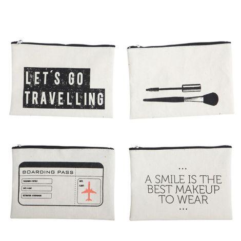 House Doctor Makeup Bag Boarding