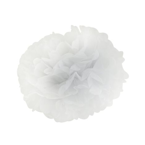 Miss Étoile große Papierblume White