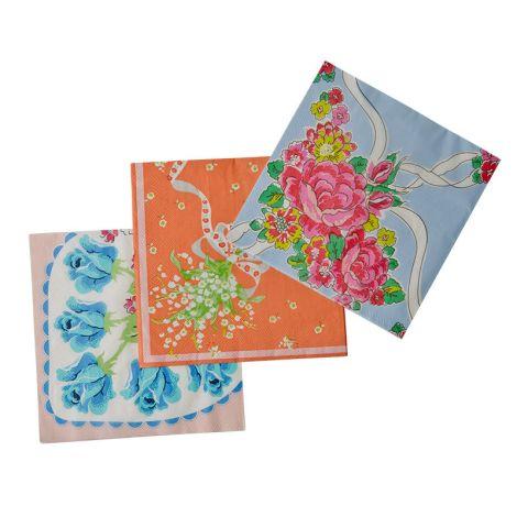Rice Papierservietten Handkerchief Prints