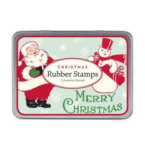 Cavallini kleines Stempelset Christmas Santa