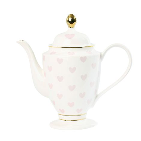 Miss Étoile Tee-/Kaffeekanne Hearts Rosa
