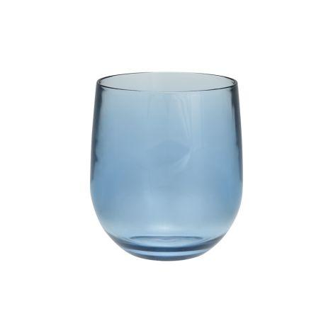 GreenGate Wasserglas Blue •