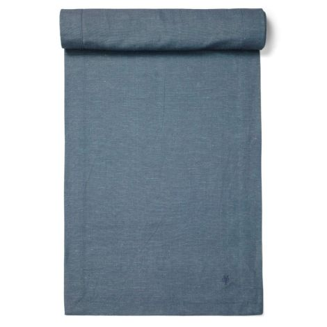Marc O'Polo Tischläufer Akalla Smoke Blue 50 x 250 cm