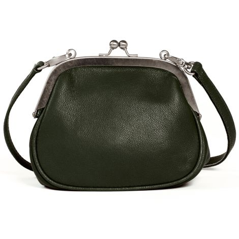 Sticks and Stones Ledertasche Alba Dark Olive