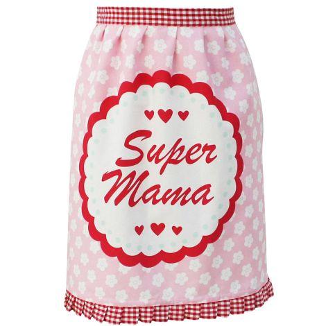 Krasilnikoff Schürze Super Mama