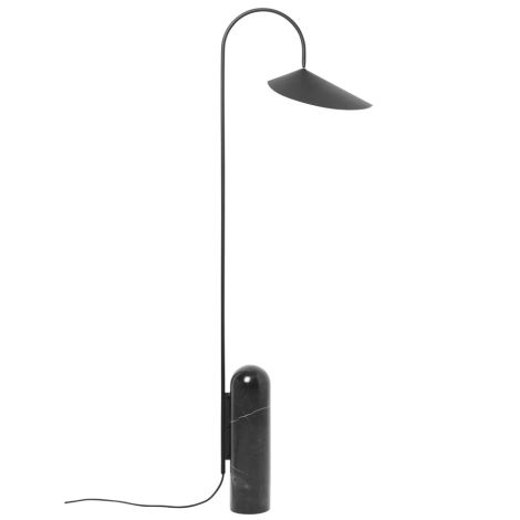 ferm LIVING Stehlampe Arum Black