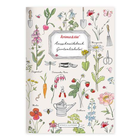 krima & isa Auschneidebuch Gartenliebelei