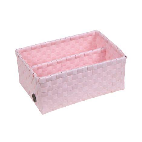 Handed By Korb Bari mit Trennsteg Powder Pink •