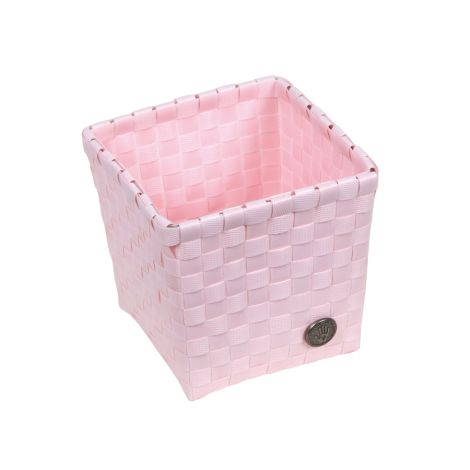 Handed By quadratisches Körbchen Grado Powder Pink