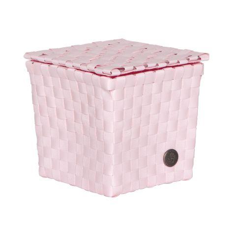Handed By Korb Palermo mit Deckel Powder Pink