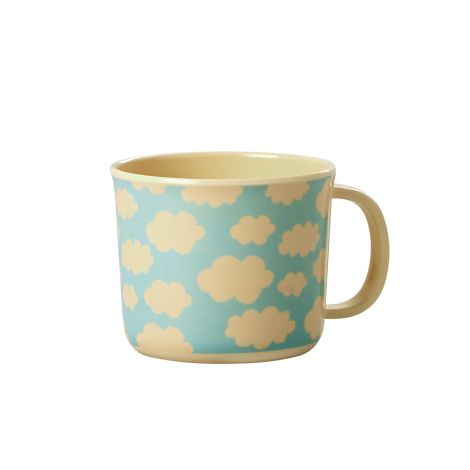 Rice Baby Melamin-Tasse Cloud
