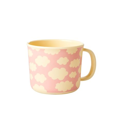 Rice Baby Melamin-Tasse Cloud Pink