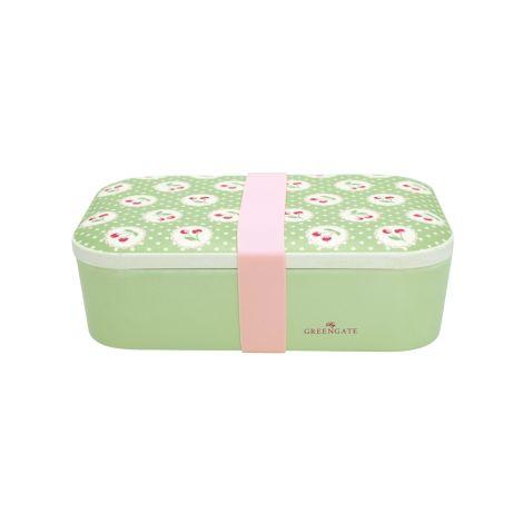 GreenGate Lunch Box Cherry Berry Green