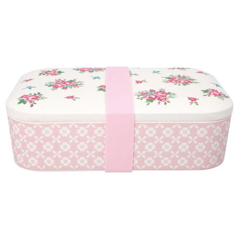 GreenGate Lunch Box Constance White