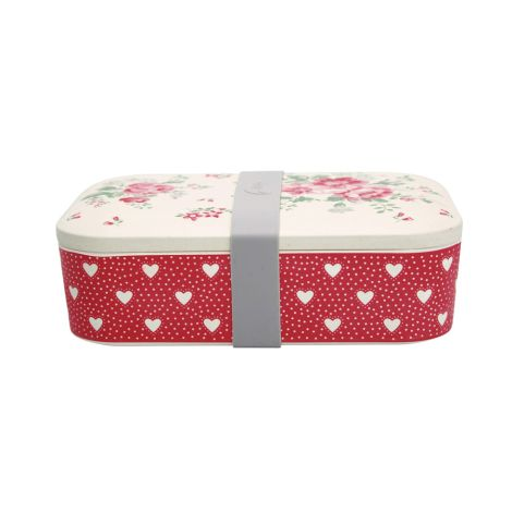 GreenGate Lunch Box Elouise White