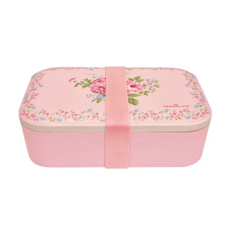 GreenGate Lunch Box Marley Pale Pink