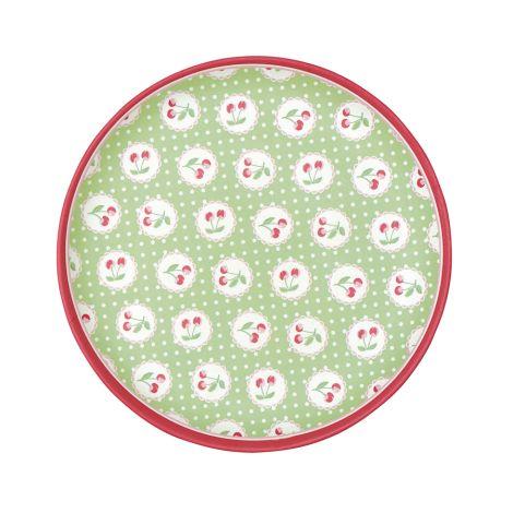 GreenGate Teller Cherry Berry Green 20 cm